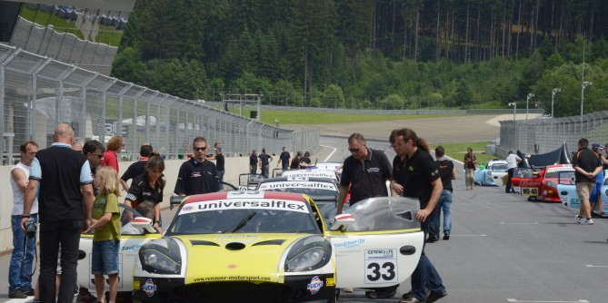 Ginetta G50 Cup, Red Bull Ring