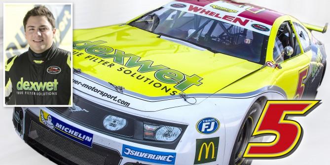 Florian Renauer in der NASCAR WHELEN EURO SERIES 2015