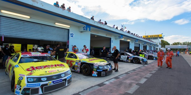 NASCAR-Showdown in Zolder